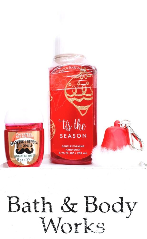 Bath Body Works Tis The Season Foaming Hand Soap Pocketbac Red