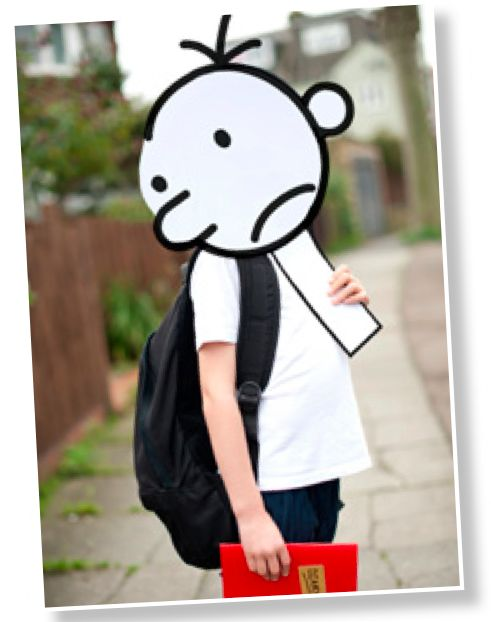 Diary of a Wimpy Kid Costume #bookweek