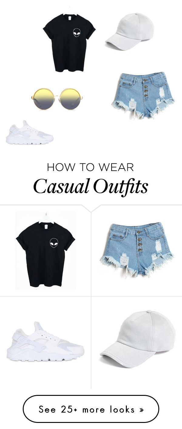 """""""Casual"""" by kaylashannon03 on Polyvore featuring WithChic, NIKE, rag & bone and Matthew Williamson"""