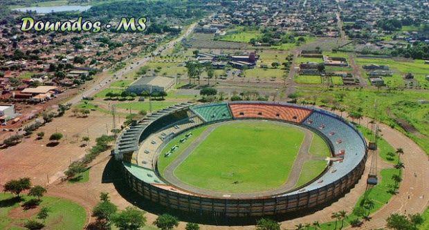 dc0052fbd1 Estádio Fredis Saldivar (Douradão) - Dourados (MS) - Capacidade  15 mil -  Clubes Sete de Setembro e …