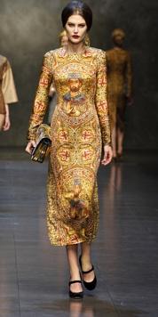 Dolce & Gabbana Sfilata Donna - Video e Foto Autunno Inverno 2014