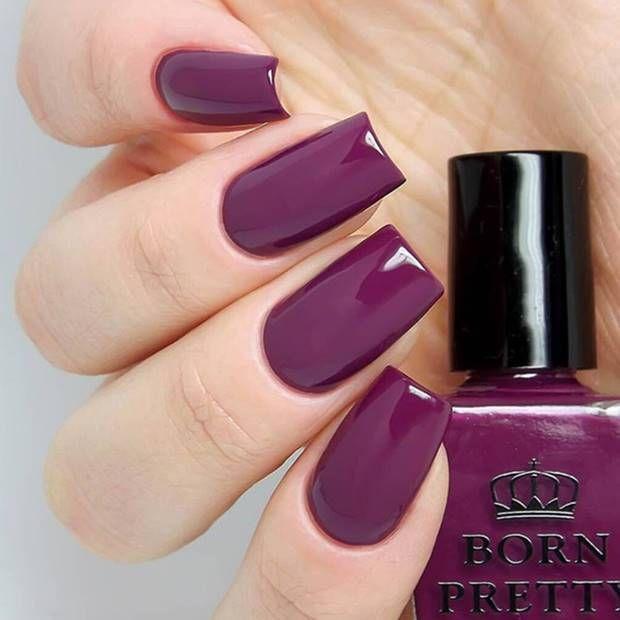 احدث الوان مناكير باستيل و بنفسجي و فضي و سماوي 2019 Latest Nail Polish Pastel Violet Silver And Nail Polish Born Pretty Nail Polish Pretty Nail Art