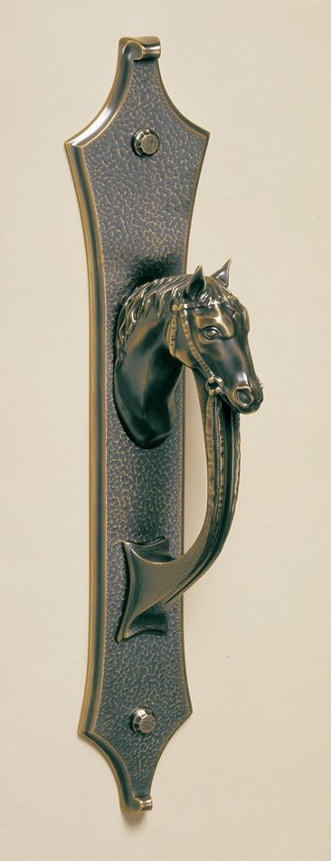Equestrian elegance  Dreaming for the front door