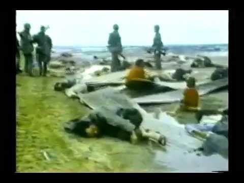 VC khủng bố pháo kích tàn sát dân di tản-Đại lộ Kinh Hoàng 1972
