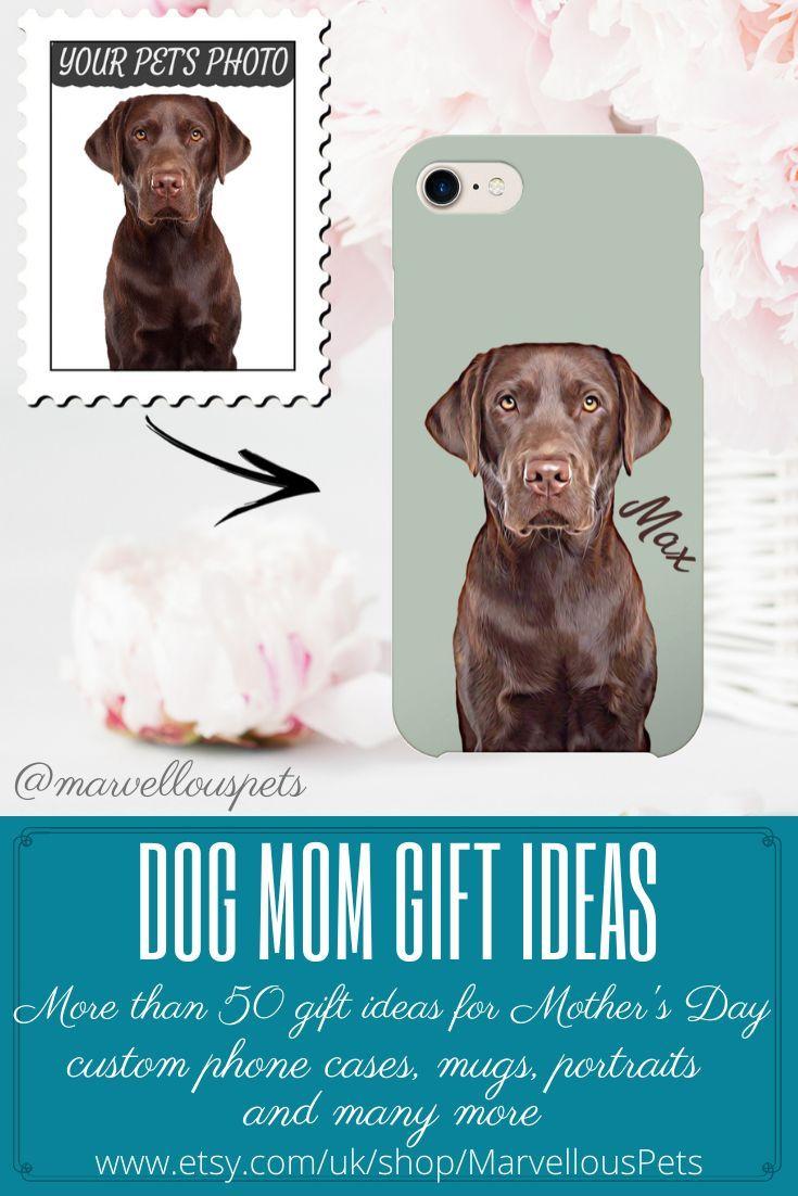 Custom Dog Iphone Case Custom Illustrated Dog Lover Phone