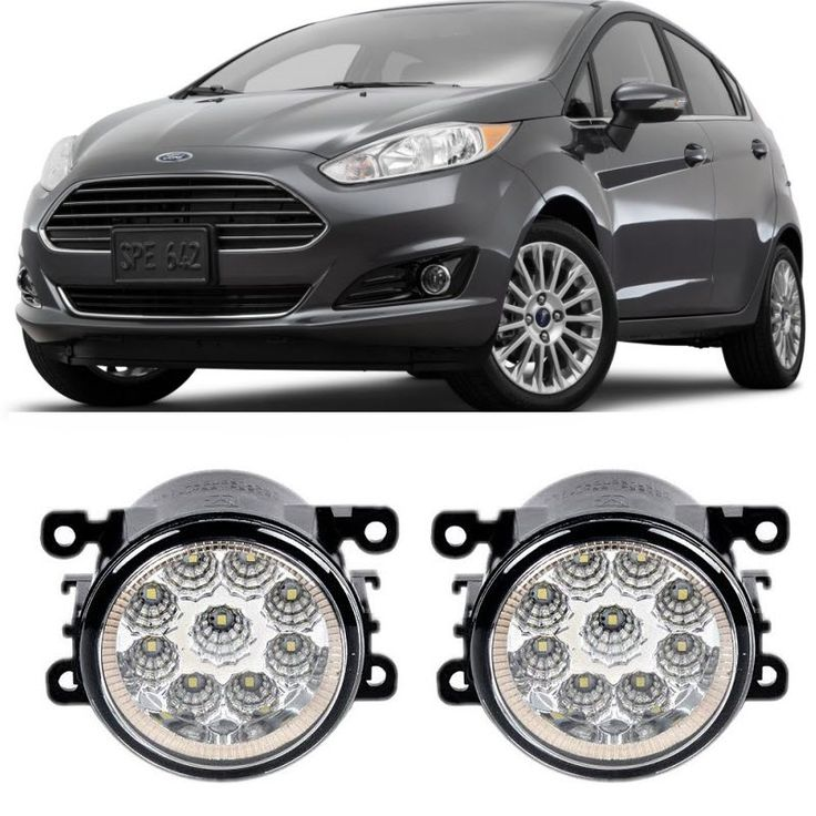 35.70$  Watch here - http://alisqb.shopchina.info/go.php?t=32796499920 - Car Styling For Ford Fiesta / Fiesta ST 2008-2016 9-Pieces Leds Fog Lights H11 H8 12V 55W LED Fog Head Lamp  #aliexpress