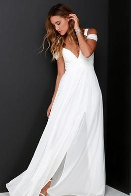 ba24ad8164 Adriane Chiffon Wedding Dress in 2019