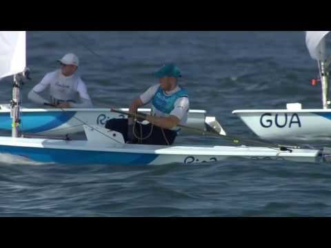 """Highlights from the medal races 
