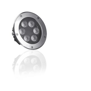 LED Bodeneinbaustrahler 48W RGBW Dimmbar,