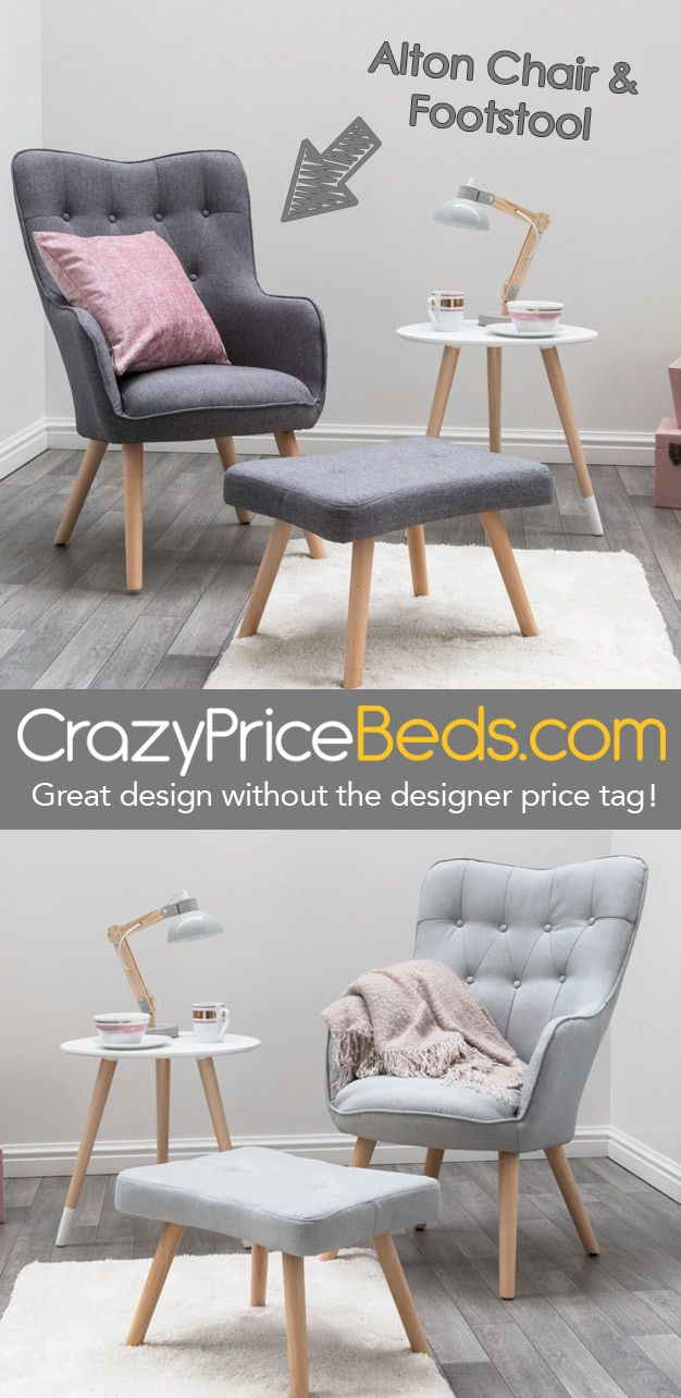 Alton Chair Footstool Only 109 99 From Crazypricebeds Com Fast