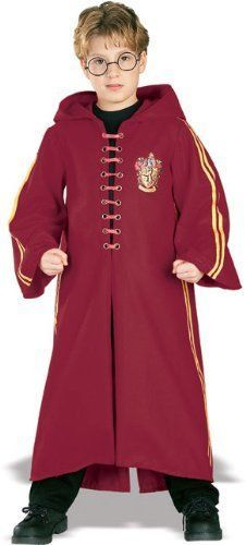 Hrry Potter Deluxe Quidditch Costumes Robe Medium ( 810) #Rubies