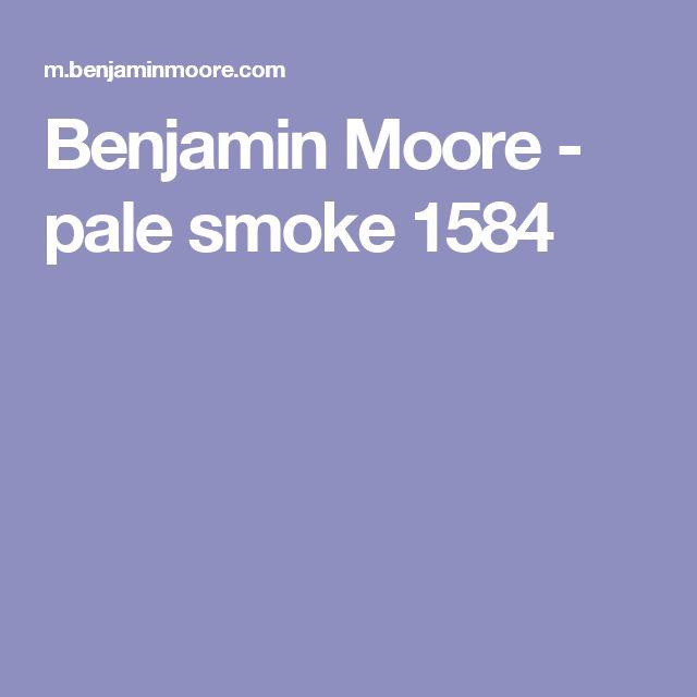 Benjamin Moore - pale smoke 1584