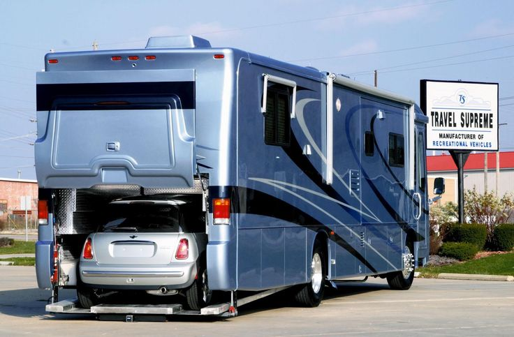 Volkner mobil performance motorhome for Class a rv with car garage
