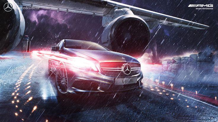 Benz AMG on Behance