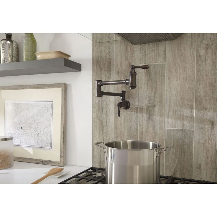 Delta Faucet 1177LF Traditional Traditional Pot Filler Faucet - Wall Mount Polished Chrome-eFaucets.com
