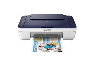 Amazon  Buy Canon Pixma E477 All-in-One InkJet Wifi Printer (White/Blue) at Rs 3899 only