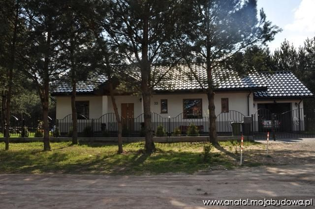 Widok frontu  #dom #elewacja #projekt