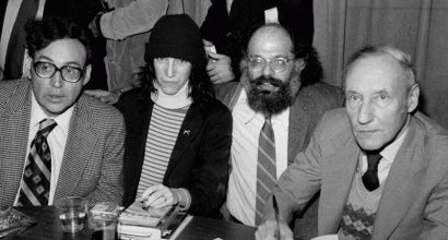 """Carl Solomon, Patti Smith, Allen Ginsberg and William S. Burroughs"" by Marcelo Noah - Flickr: More Solomon. Licensed under CC BY 2.0 via Wikimedia Commons - http://commons.wikimedia.org/wiki/File:Carl_Solomon,_Patti_Smith,_Allen_Ginsberg_and_William_S._Burroughs.jpg#/media/File:Carl_Solomon,_Patti_Smith,_Allen_Ginsberg_and_William_S._Burroughs.jpg"