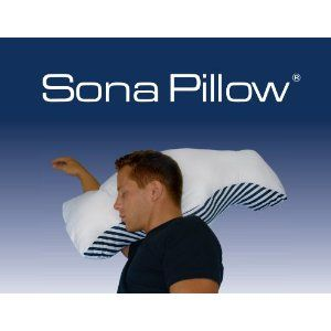 sona fdacleared antisnore and mild sleep apnea pillow amazonca