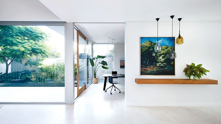 Bright, airy and surrounded by greenery, this new Perth abode is as relaxed as the family who call it home