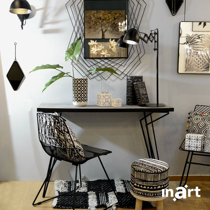Design with an edge… in pieces you simply cannot stop starring at. One more spectacular Scandinavian look. #inartLiving