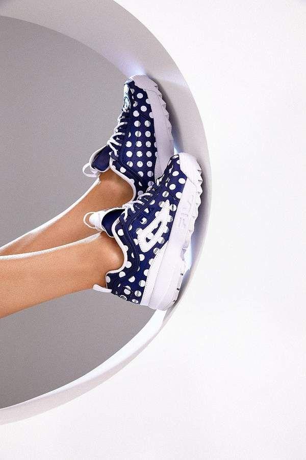 Fila Pierre Cardin Uo Exclusive Disruptor 2 Polka Dot Sneaker Fila Women Shoes Online Pierre Cardin
