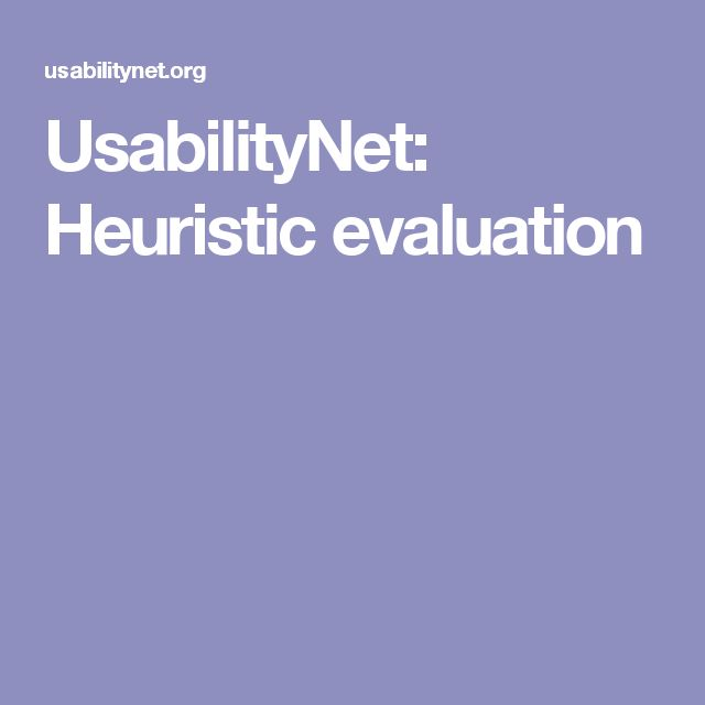 Best Heuristic Evaluation Images On   User Experience