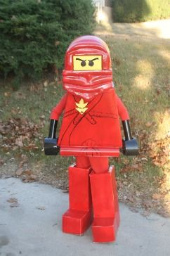 Ninjago costume for Isaac