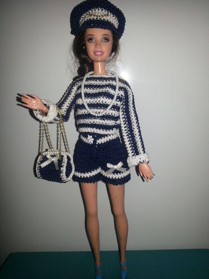 ensemble Vêtements pour poupée Barbie (297)