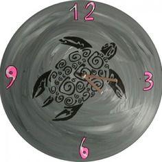 Horloge tortue vinyle 33t