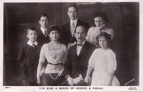 König Konstantinos I. von Griechenland und seine Familie | Flickr