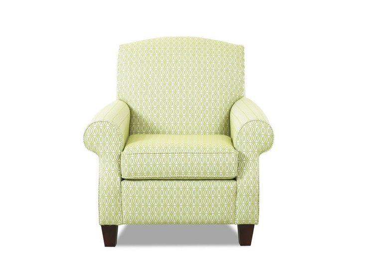 Klaussner Living Room Marie Chair   Klaussner Home Furnishings   Asheboro, North  Carolina