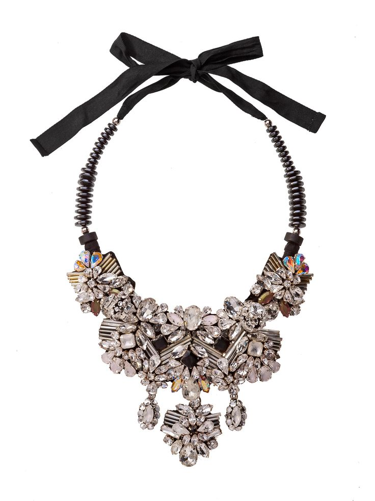 RIENNE Leda Necklace from Designrs.co  Give your style a dramatic finishing touch with a statement jewelry.