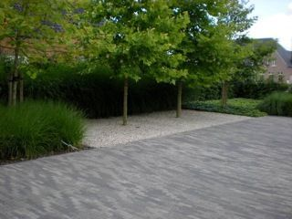19 best images about bestrating oprit on pinterest herringbone delft and the netherlands - Oprit grind tuin ...