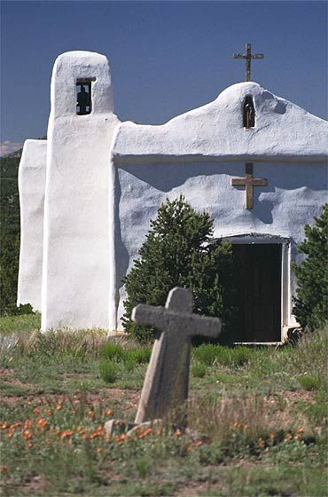 Abandoned in Golden, New Mexico