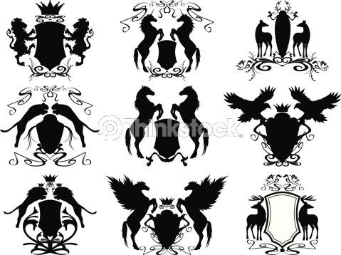 Vector Art: heraldry