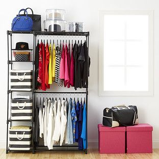 Deluxe Double Rod Freestanding Closet