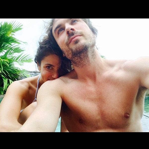 Ian Somerhalder Shares Sexy Shirtless Honeymoon Pic With ''Beautiful'' Wife Nikki Reed  Ian Somerhalder, Nikki Reed, Instagram