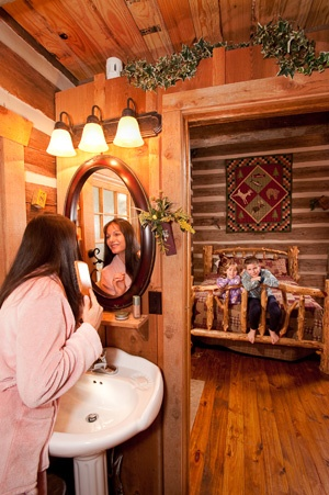 Log Cabins At The Wilderness In Branson Missouri The