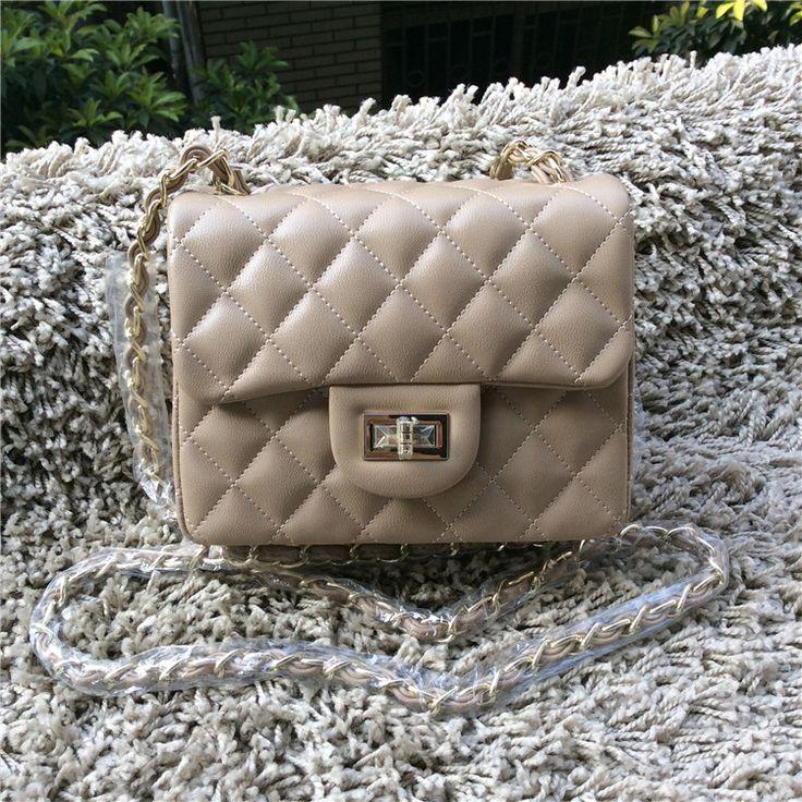 2015 мода женщин кожаные сумки небольшой мини стороны пряжки сумки посыльного плед цепи сумки на ремне cross body сумочка 10 цветакупить в магазине China Ming fashion E-Business Co.,Ltd.наAliExpress