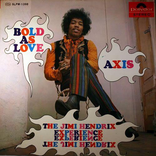 Jimi Hendrix, Axis: Bold As Love, Japanese, Deleted, vinyl LP album (LP record), Polydor, SLPM-1398, 436273