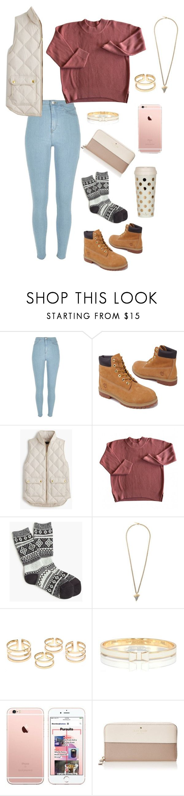 """Untitled #14"" by mgmagruder ❤ liked on Polyvore featuring River Island, Timberland, J.Crew, Givenchy, Kate Spade, women's clothing, women's fashion, women, female and woman"