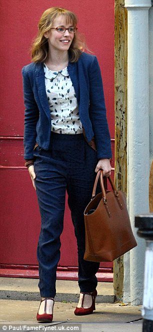 HELP! If anyone knows what brand these trousers are please let me know. rachel mcadams about time fashion - Google Search