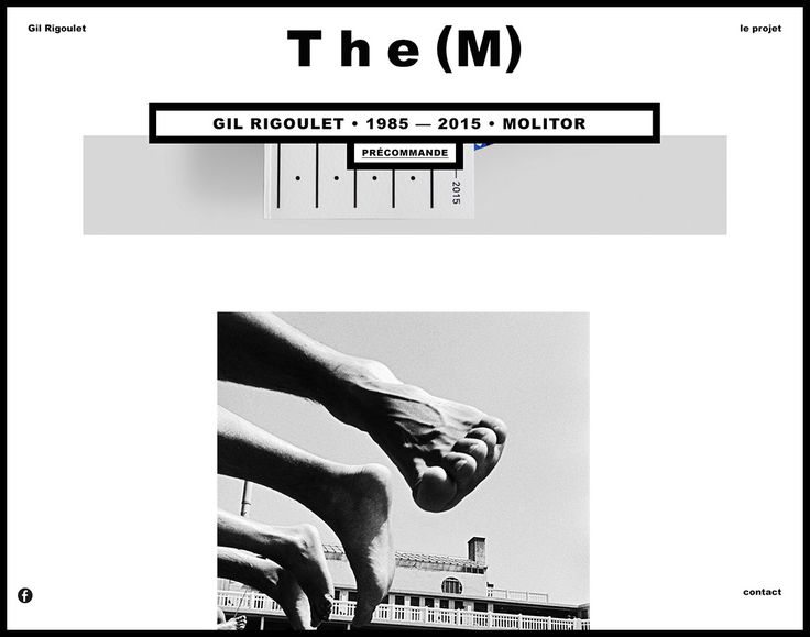 the (m) éditions - Website Molitor - Les Graphiquants