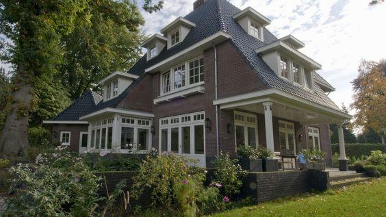 Villa Brediuskwartier Bussum | Zijgevel