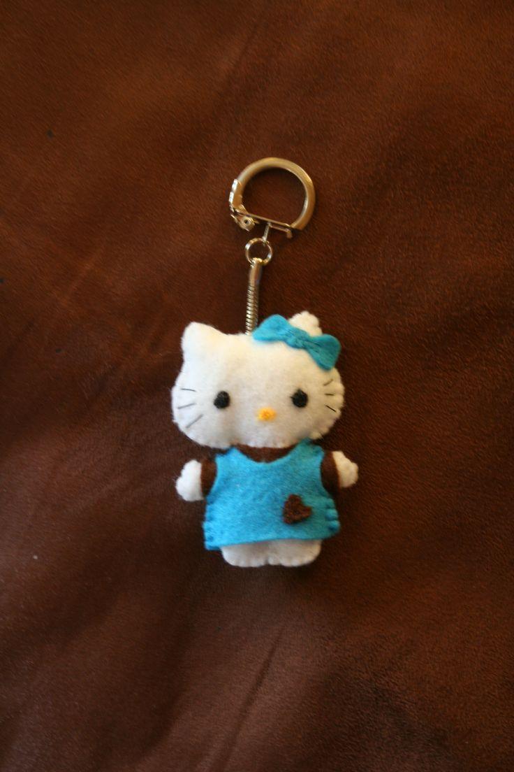 Feutrine - Porte-clés Hello Kitty