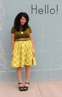 Vintage Sheet to Pretty Skirt Tutorial via Smile and Wave #skirt #tutorial #sewing