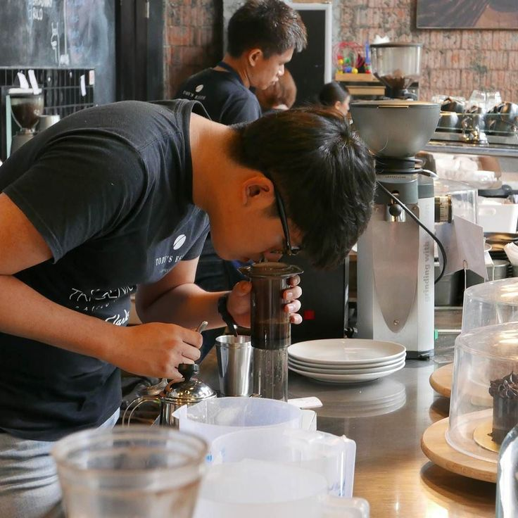 Smell profit or coffee?  #coffee #singaporancoffee #coffeeinSingapore #aeropress #cafe #coffeeculture #barista #brewcoffee #coffeemaking #coffeemaker #coffeescene