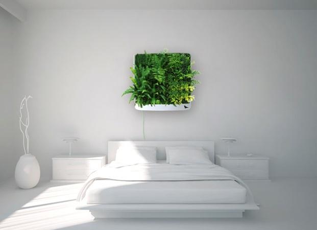 Esculturas vegetales y jardines verticales.
