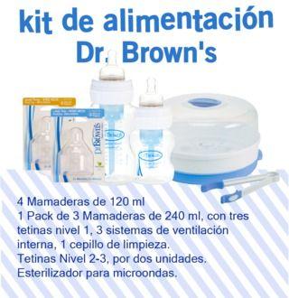 Kit de Alimentación Dr. Browns